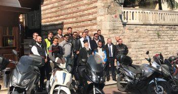Ομογενείς μηχανόβιοι στο Οικουμενικό Πατριαρχείο