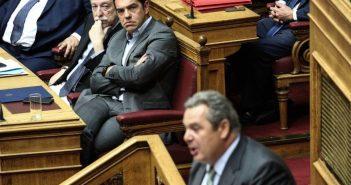 Το Μακεδονικό «βουλιάζει» ΣΥΡΙΖΑ και ΑΝΕΛ