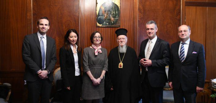 Στον Οικουμενικό Πατριάρχη ο Πρέσβης του Βελγίου