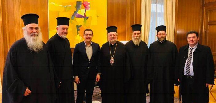 Με τον πρωθυπουργό συναντήθηκε η Πατριαρχική αντιπροσωπεία