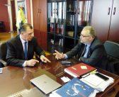 Με τον πρόεδρο του ΟΛΘ ΑΕ συναντήθηκε ο Γιώργος Ορφανός