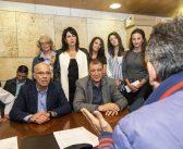 Στο δημαρχείο Θεσσαλονίκης ο Γιώργος Ορφανός. Να είναι ο επόμενος δήμαρχος του ευχήθηκαν εκπρόσωποι των εργαζομένων