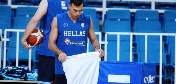 Απόψε η πρόβα της εθνικής μπάσκετ με την Σερβία (video)