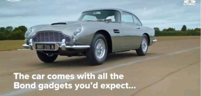Έσπασε τα ρεκόρ η Aston Martin του Τζέιμς Μποντ: Πωλήθηκε για 6,4 εκατ. δολάρια!