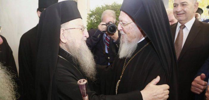 Στο Μακεδονία Παλάς η Α.Θ.Π ο Οικουμενικός Πατριάρχης κ.κ. Βαρθολομαίος