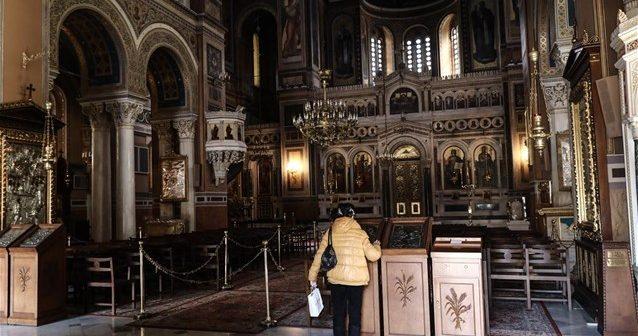 Παρατείνονται έως τις 9 Ιουλίου τα μέτρα για τις εκκλησίες