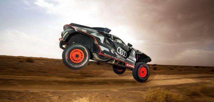 Στο Rally Dakar με το RS Q e-tron στο Μαρόκο η Audi